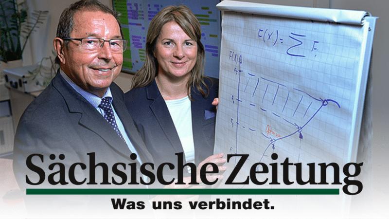 Pressebericht Sächsische Zeitung 10.12.2015: Optimieren nach dem Vorbild der Ameise