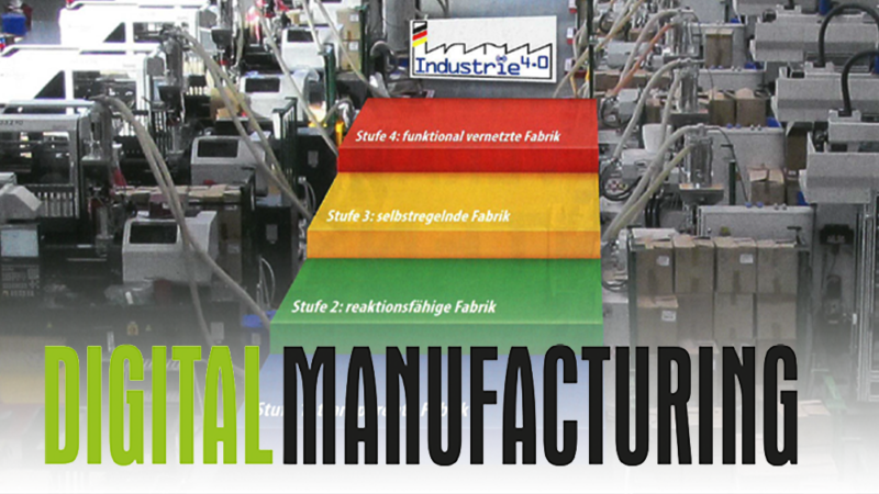 Pressebericht in der Digital Manufacturing  in Ausgabe 2/2016: Spritzguss voll im Plan – Feinplanung mit APS bei Starlim//Sterner