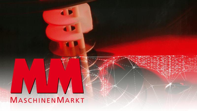Pressebericht im Maschinen Markt Magazin: Die Ressourcen im Blick haben, mit ERP