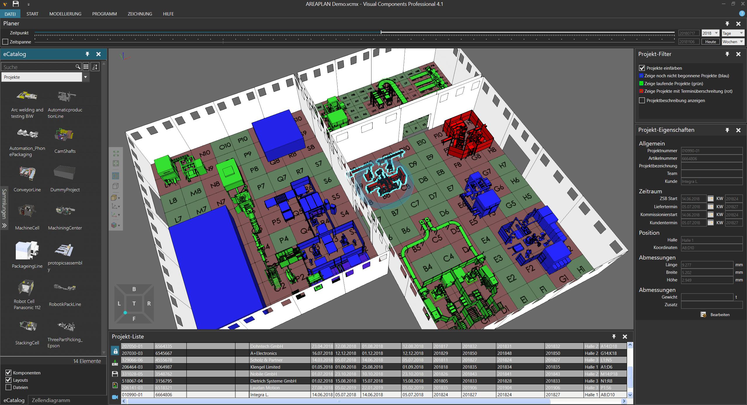 DUALIS präsentiert neue Software zur Fabrikflächenplanung auf der LogiMAT 2019