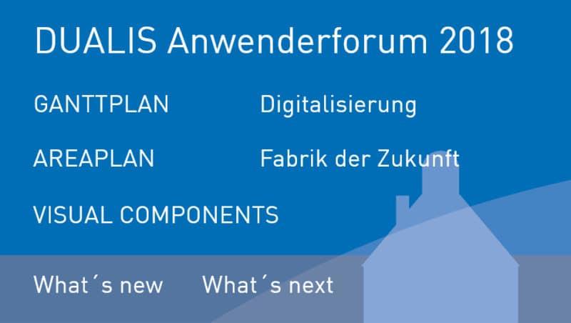 DUALIS Anwenderforum 2018: Mit Kunden verbunden – digital vernetzt