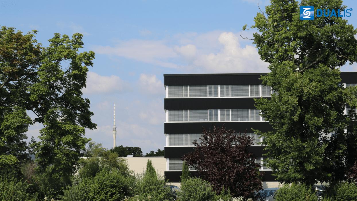 Das neue Bürogebäude von DUALIS