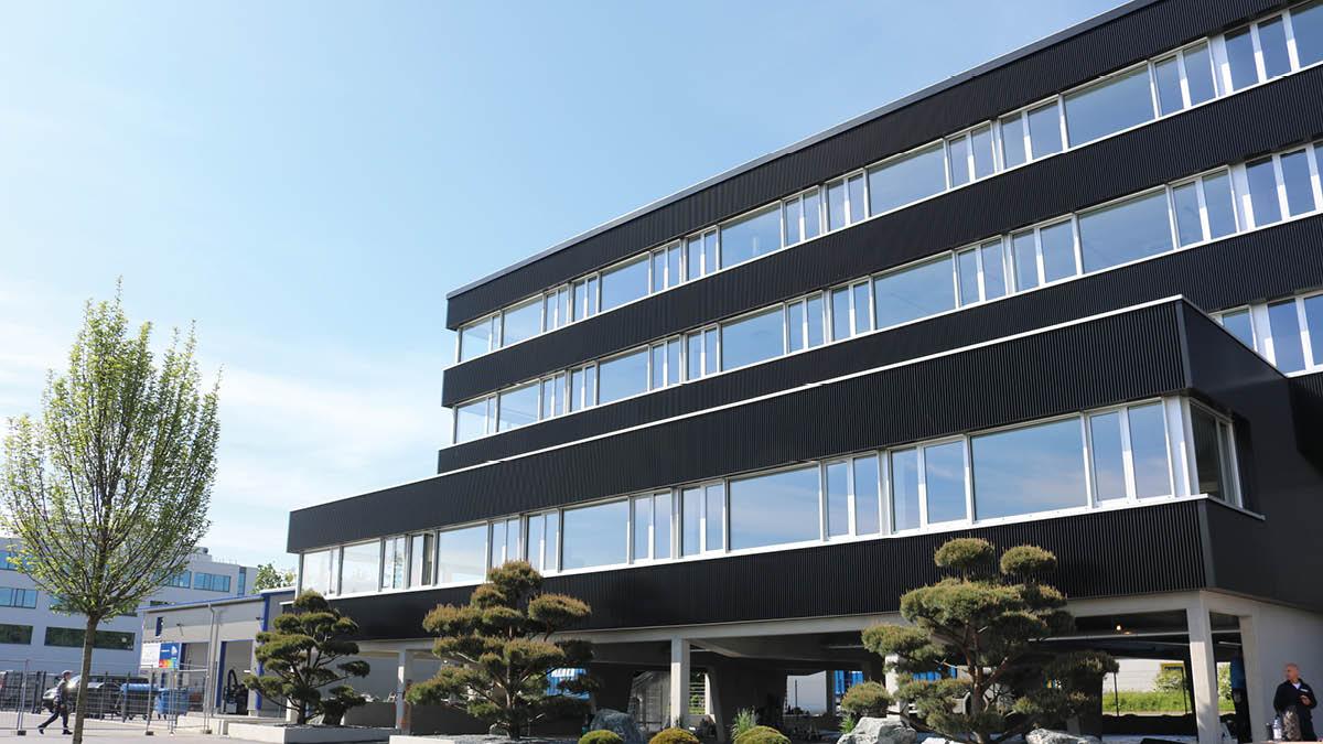 Das neue DUALIS Headquarter an der Breitscheidstraße 36 in Dresden