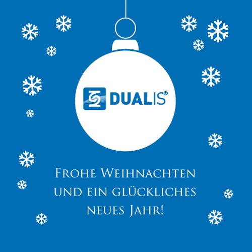 DUALIS wünscht frohe Weihnachten