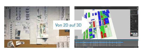 Einsatz AREAPLAN bei FILL - von 2D zu 3D in der Fabrikflächenplanung
