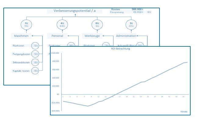 ROI-Analyse Einführung APS-System