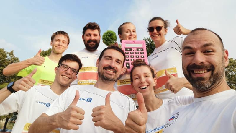 DUALIS Mitarbeiter beim TSC-Lauf 2019