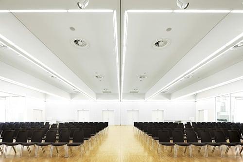 DUALIS Anwenderforum 2019 im Saal Hamburg Messe Dresden