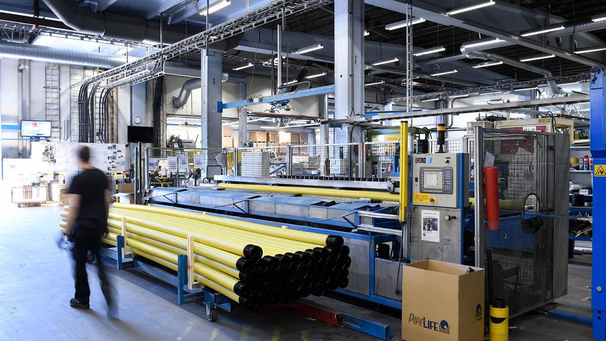 PIPELIFE Werk Haparanda digitalisiert mit GANTTPLAN seine Produktionsplanung