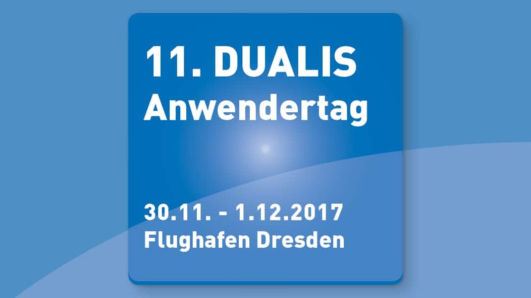 DUALIS lädt zum Anwendertag 2017
