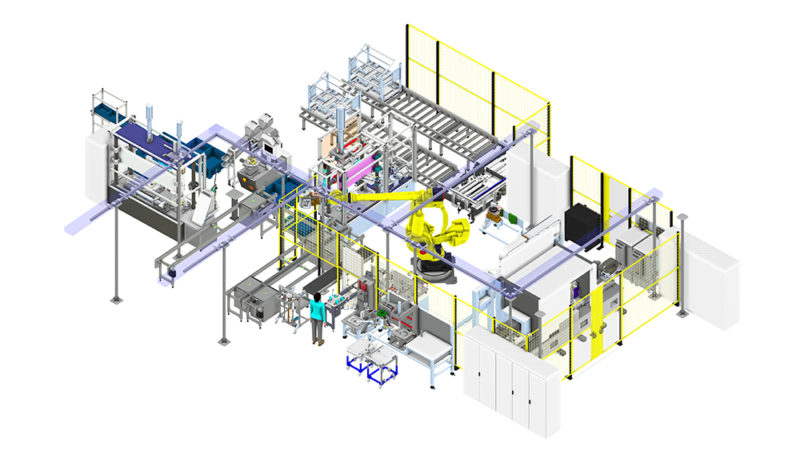 PIA Automation lebt virtuelle Realität: 3D-Simulation von DUALIS für mehr Schnelligkeit, Effizienz und Agilität