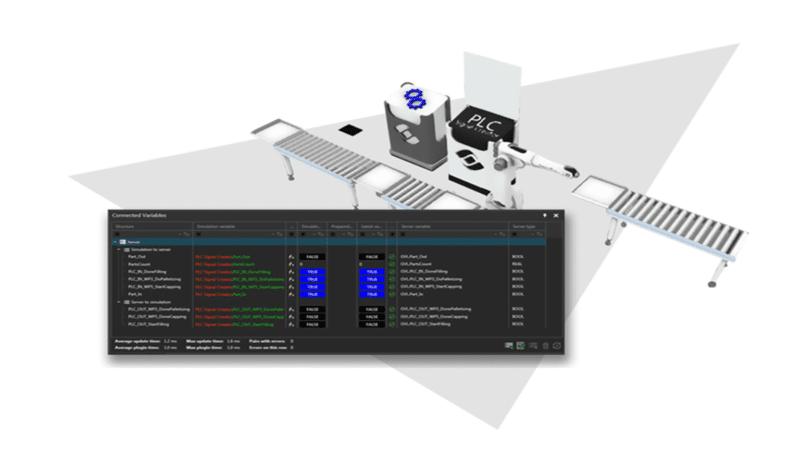 DUALIS erweitert Simulator von Visual Components um neues Siemens-Plugin