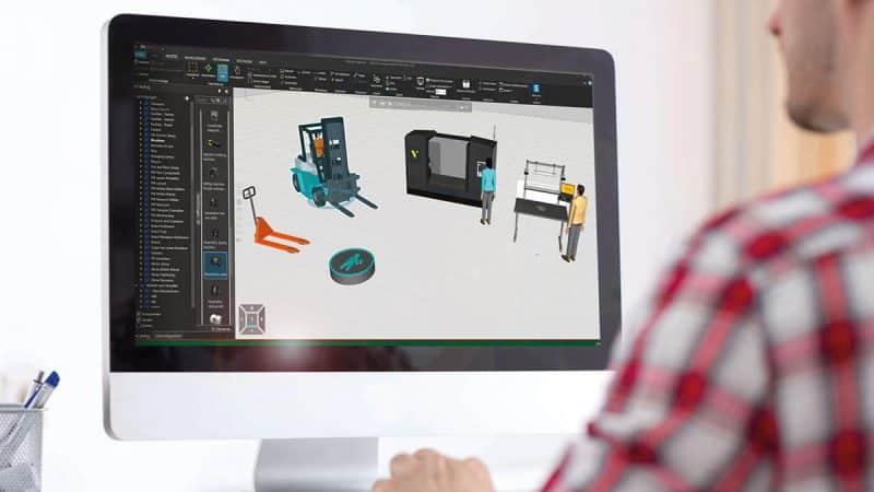 DUALIS bietet neue Features für 3D-Simulation als zentrale Komponente im Lean Manufacturing
