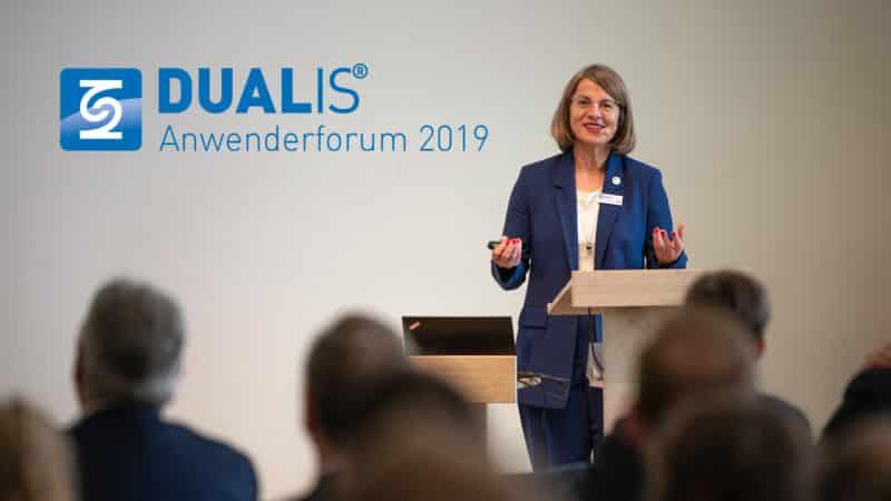 DUALIS Anwenderforum 2019: Vernetzt. Interagiert. Mitgestaltet. – Teil 1