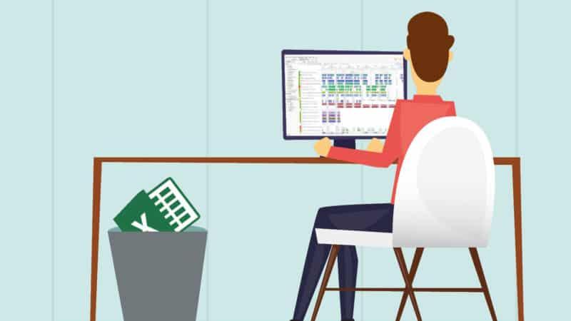 Tschüss, Excel – Hallo APS! – Produktionsplanungssysteme in der Fertigung: gestern, heute und morgen