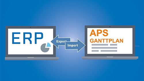 APS-System und ERP-System - die perfekte Kombination für die Fertigungsplanung