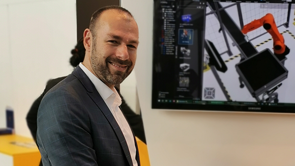 Carsten Eichler Sales Manager Factory Simulation bei DUALIS
