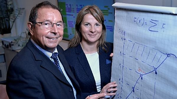 DUALIS Gründer Prof. Dr. Winfried Krug mit Tochter und DUALIS-Geschäftsführerin Heike Wilson